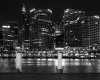 Sydney City by night from Darling Harbour - Photographer: Barry Matthews